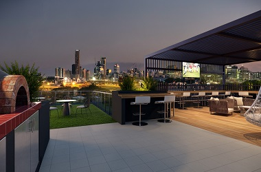 Top Brisbane Apartment Rooftop