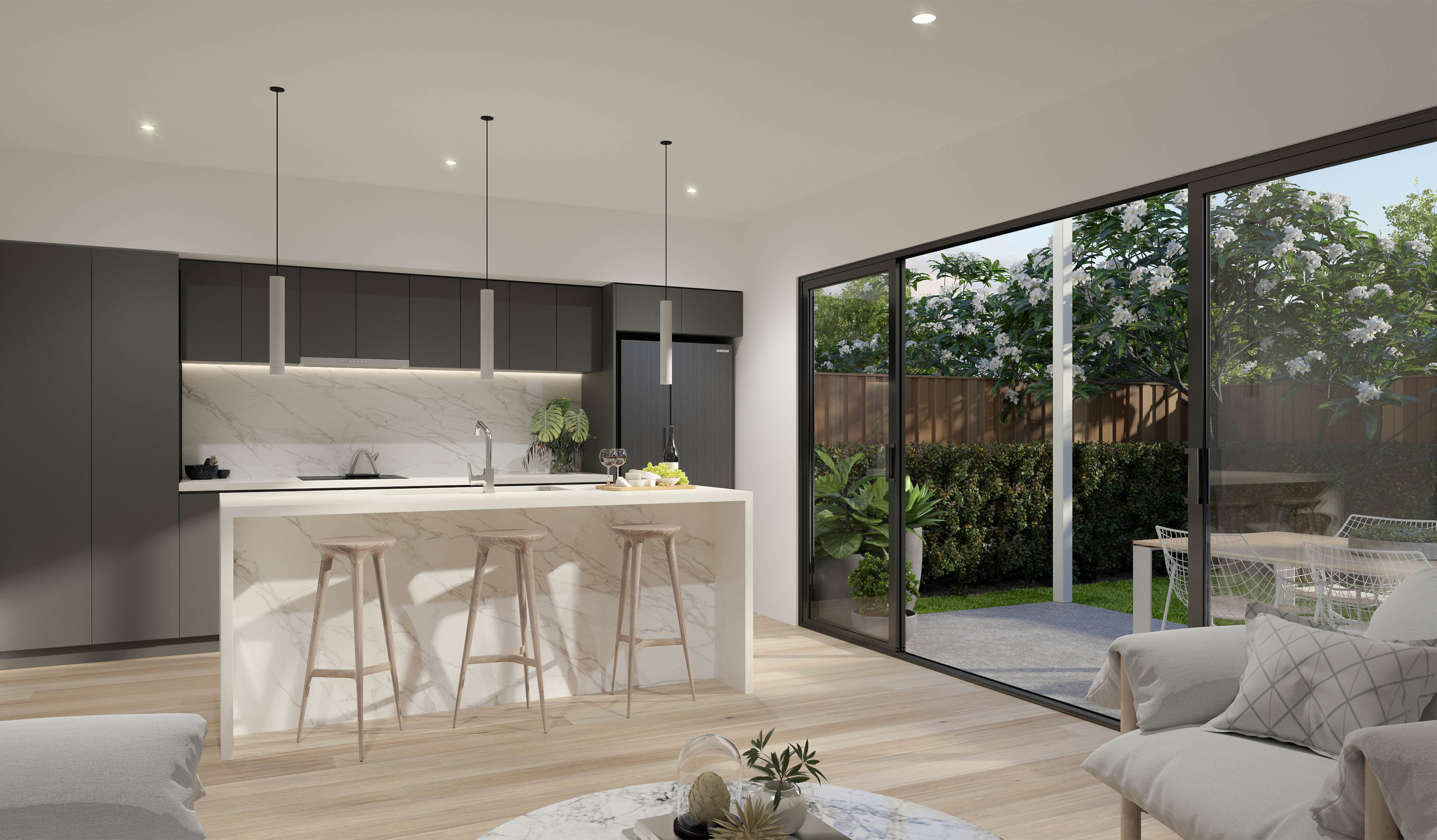 Freehold boutique townhomes in Brisbane's north