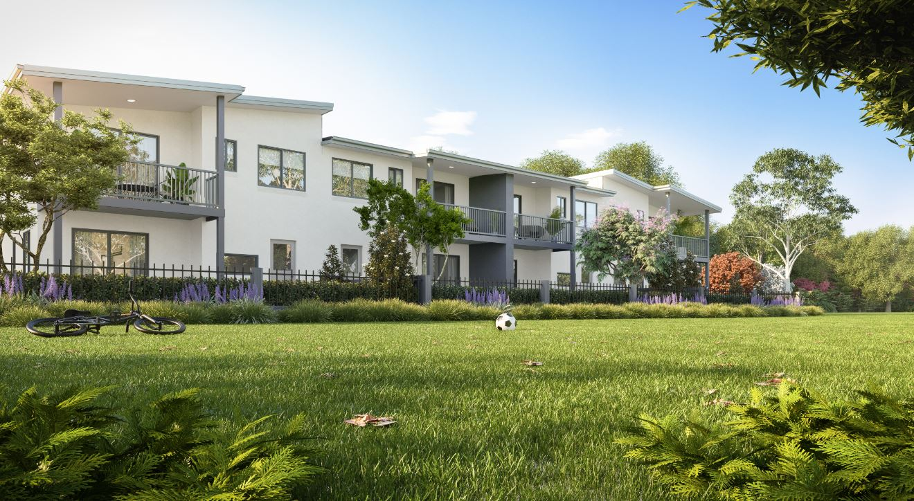 Beautiful townhomes north of Brisbane